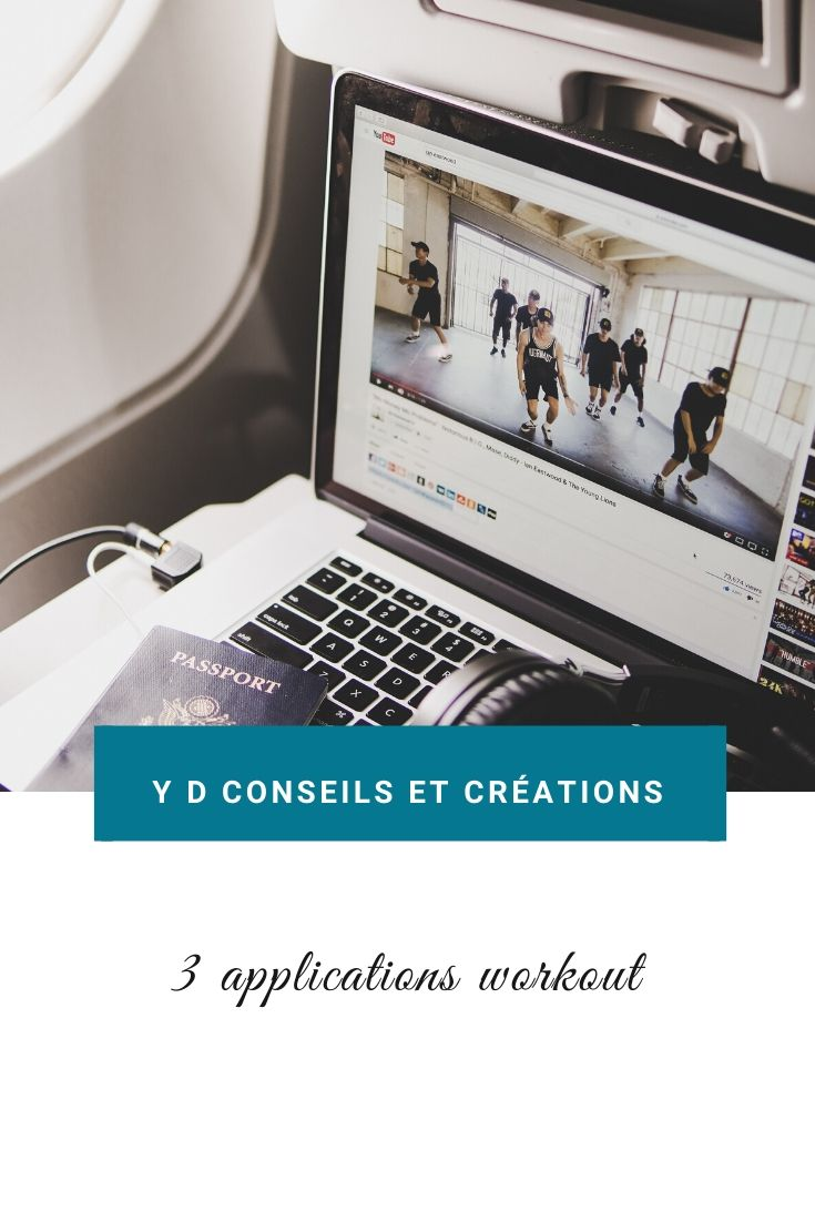 3 applications workout pour faire du sport à domicile.