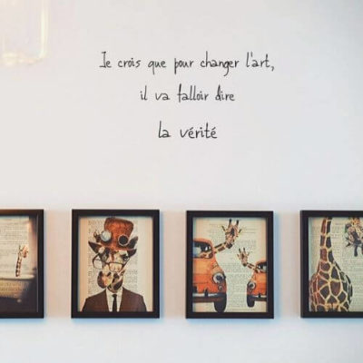 citation changer l'art
