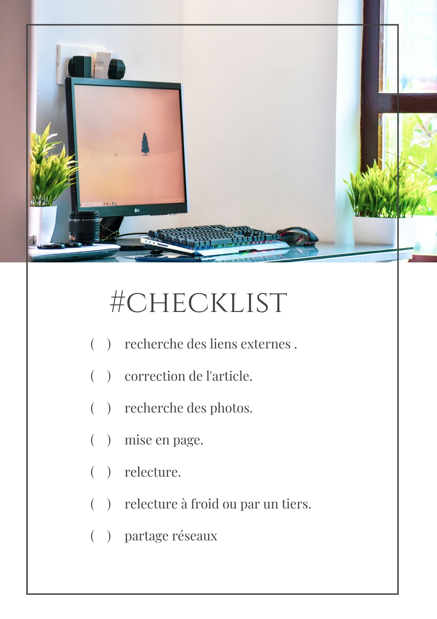 to do list pour organisation
