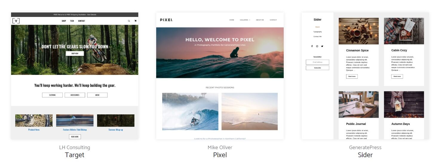theme generatepress wordpress